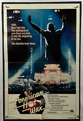 AMERICAN HOT WAX Movie Poster One Sheet (Fine) 1978 Tim Mcintire 952
