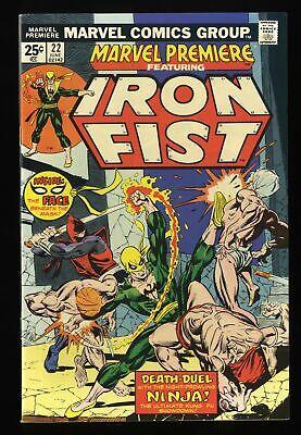 Marvel Premiere #22 VF/NM 9.0 Comics Iron Fist!