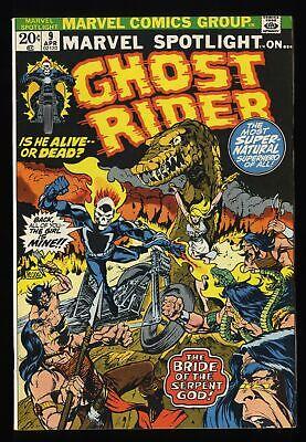 Marvel Spotlight #9 FN+ 6.5 Comics Ghost Rider!