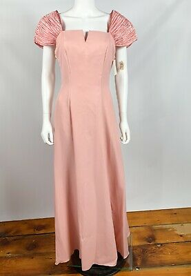 Bill Levkoff Vintage Bridesmaid Dress Pink Sz 9 Formal Special Occasion Prom Bill Levkoff Junior Bridesmaid Dresses