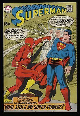 Superman #220 VF 8.0 Flash!