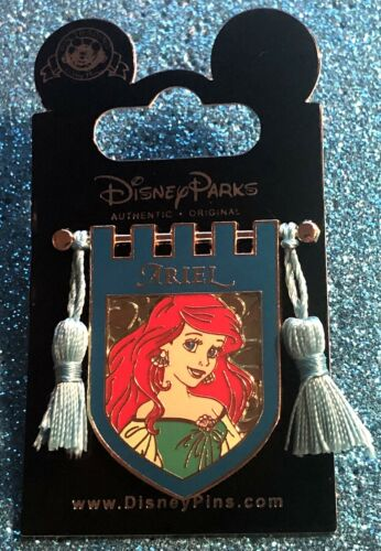 DISNEY WDW 2017 PRINCESS TAPESTRY ROYAL BANNER ARIEL FROM THE LITTLE MERMAID PIN