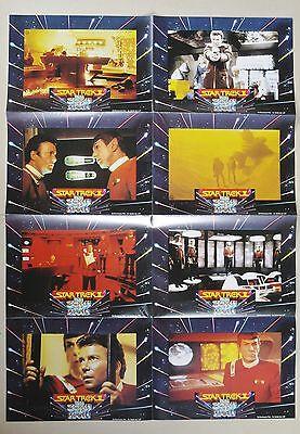 (Z332) Fotosatz STAR TREK II Der Zorn des Khan 1982 William Shatner, Leonard Nim online kaufen
