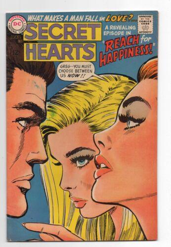 DC COMICS  SECRET HEARTS 126  1968  ROMANCE LOVE