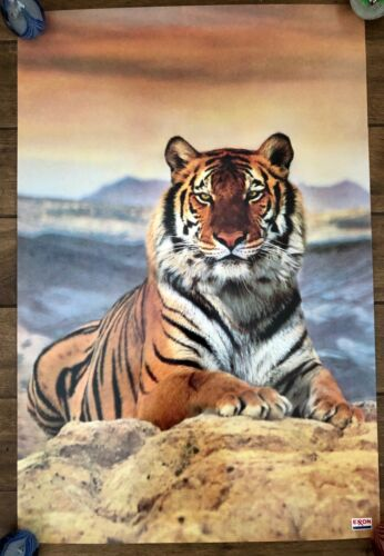 "Vintage Exxon Mobil Gasoline Advertising Tiger STF Photo Poster 24"" x 38"""