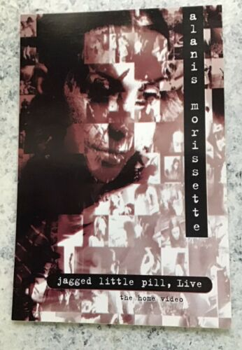 "Alanis Morissette Jagged Little Pill, Live Promo Postcard Sticker 4""x6"" Free Shp"