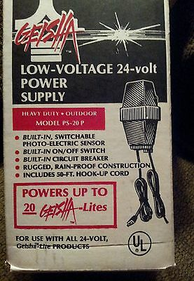 Geisha Outdoor Lighting 24-volt Low Voltage Power Supply Transformer With Sensor