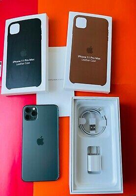 Apple iPhone 11 Pro Max - 256GB - MidnightGreen - UNLOCKED + EXTRAS!!!