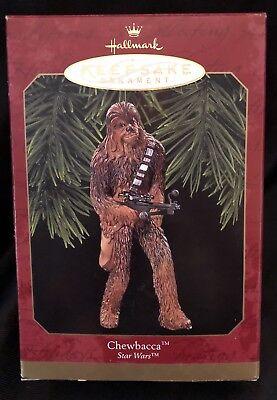 1999 Chewbacca Hallmark Keepsake Ornament Star Wars Christmas Chewy NIB - Chewbacca Ornament