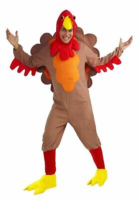 Forum Novelties Fleece Turkey Thanksgiving Adult Mens Halloween Costume 65692