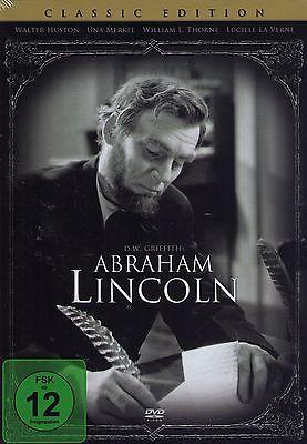 DVD NEU/OVP - Abraham Lincoln (1930) - Walter Huston & Una Merkel