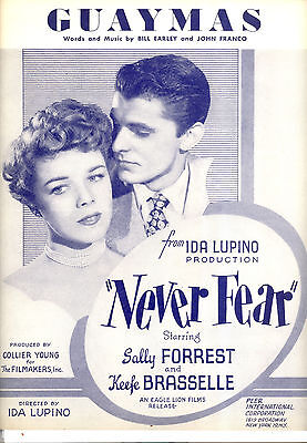 NEVER FEAR Sheet Music