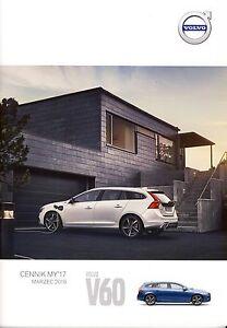 Volvo V60 03 / 2016 catalogue brochure - Varsovie, Polska - Volvo V60 03 / 2016 catalogue brochure - Varsovie, Polska