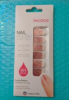 Incoco nail polish strips * Love Potion * like color street - Free Shipping ✨NEW