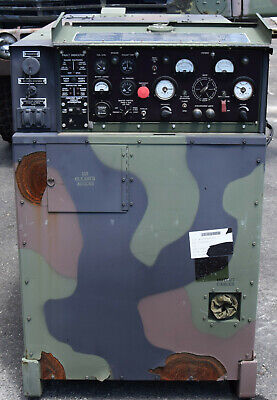 Military Mep-804b 15kw Portable Diesel Quiet Generator 272 Hours 50hz 60hz