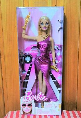 Barbie Oscar Firmstar mit goldener Statue Fashion Fever Top Model Collector OVP