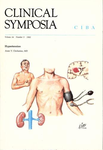 Hypertension 1982 Ciba CLINICAL SYMPOSIA Medical Booklet Frank Netter