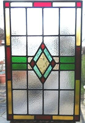 NEWLY CREATED  STAINED GLASS PANEL - REF SG423 - see my other panels.