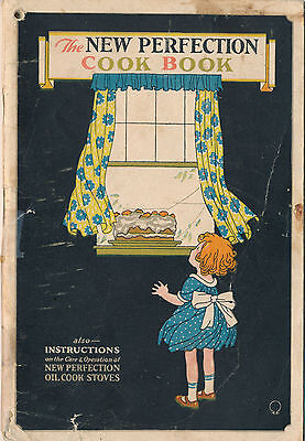 1923 Perfection Stoves & Ranges Cook Book Advertising, 64 Pages