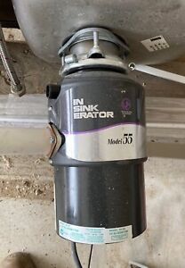 In sink Erator LIKE NEW Plus sink & mixer
