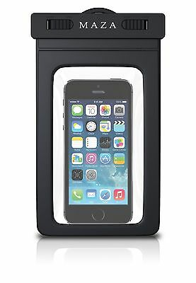 Universal waterproof mobile cover pouch Iphones,Samsung, UK stock M A Z A Universal Mobile Pouch