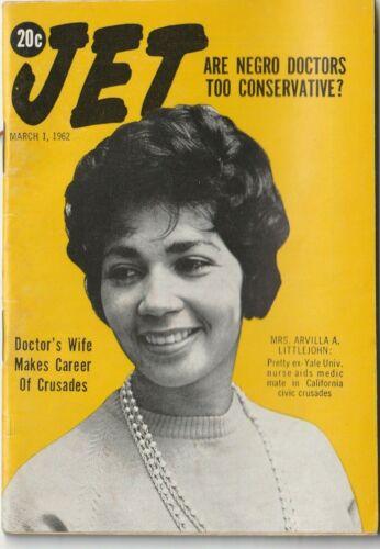 VTG 1962 Jet Magazine Civil Rights Era Equality Black History Negro Doctors