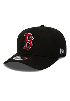 New Era Stretch Snap 9Fifty Snapback Cap BOSTON RED SOX Schwarz Sox Snap