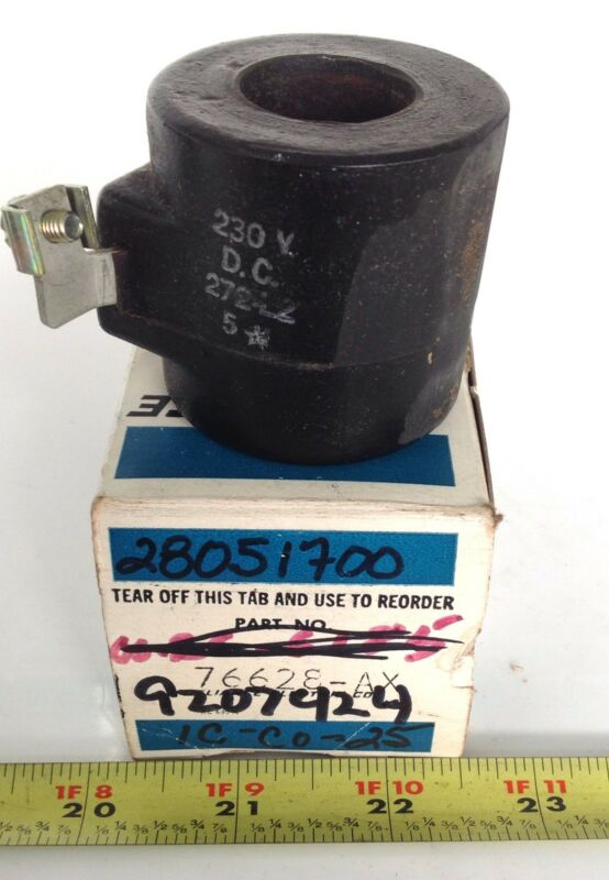 RELIANCE ELECTRIC 230V CONTACTOR COIL NIB 76628-AX