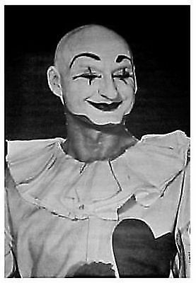MOVIE POSTER~Classic 1960's Original Clown Mime Painted Face Killer Scary Print~