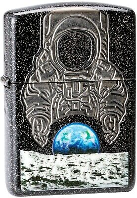 50th Anniversary Collectible - ZIPPO Collectible 50th Anniversary Moon Landing Star Background Astronaut 29862