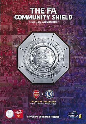 FA COMMUNITY SHIELD 2017 Chelsea v Arsenal