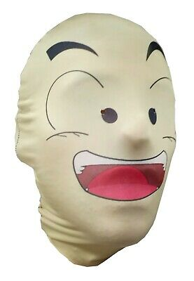 Krillin Halloween Costume (Krillin Dragonball Z, Full Head Mask - Cosplay - DBZ Parody - Halloween)