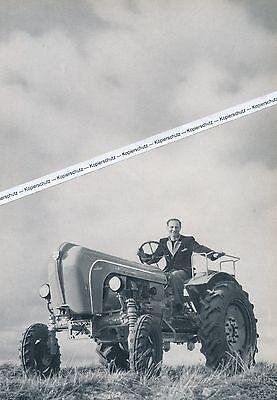 Allgaier Schlepper - Traktor - Großformat! - um 1955 oder früher ? - selten