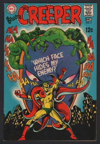 BEWARE THE CREEPER - LOT OF 2... #4, #5, DC Comics, 1968-69, VF CONDITION
