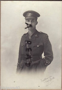 WW1 Officer Captain Worcesters Worcestershire Regiment Bedford photographer