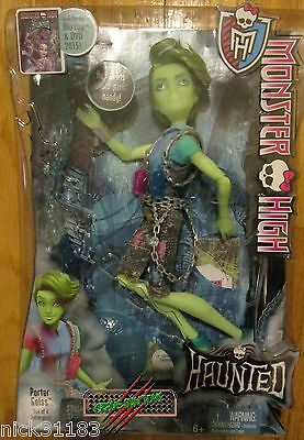 MONSTER HIGH HAUNTED PORTER GEISS DOLL STUDENT SPIRITS