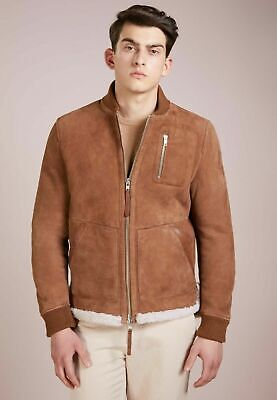 New Tiger of Sweden Layton Jacket in Shearling leather 48 EU (Small) $2399