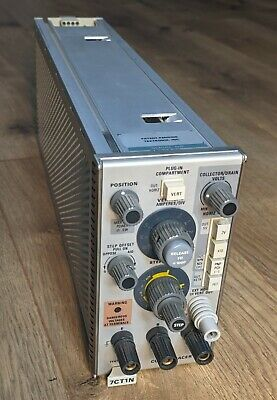 Tektronix 7ct1n Curve Tracer Plug In Compartment