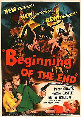 PHOTO MAGNET Movie Poster BEGINNING of the END 1956 Peter Graves Grashoppers