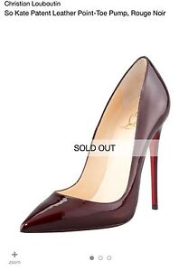 Authentic BNIB Christian Louboutin So Kate Rouge Noir Pump Heel Sydney City Inner Sydney Preview
