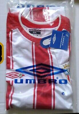 ALGECIRAS CF FOOTBALL CLUB 2003 RED WHITE XXL HOME SHIRT BNWT SPAIN ESPANA ESP  image