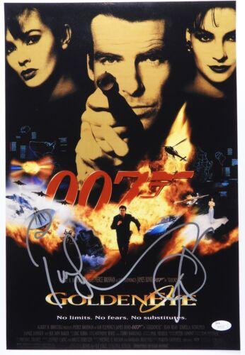 Pierce Brosnan James Bond 007 JSA 12 x18 Autograph Signed Photo Golden Eye