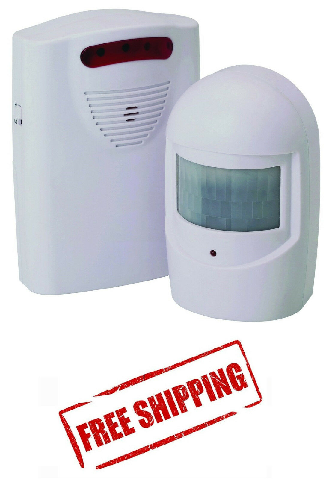 WIRELESS MOTION SENSOR DETECTOR DOOR GATE ENTRY BELL CHIME A