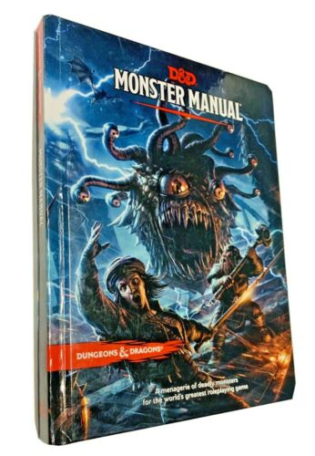 Dungeons & Dragons, Fifth Edition: Monster Manual (Hardcover)
