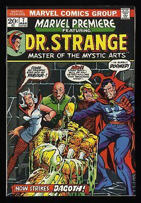 Marvel Premiere #7 VF/NM 9.0 Comics Doctor Strange!