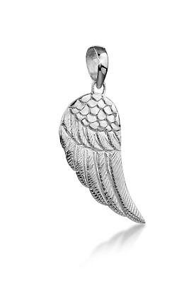 Flügel Anhänger Engel 925er Sterling Silber Herren Männer für Kette (Engelsflügel Für Männer)