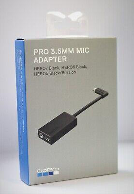 GoPro Pro 3.5mm Mic Adapter for HERO5 Black/HERO7 Black/ HERO6 BLACK AAMIC-001