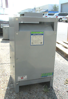 Hevi-duty Gen Purpose Transformer 25 Kva Cat S1823h25s .. 1 Ph.  Od-339