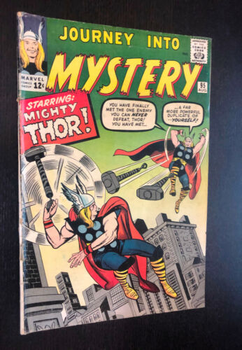 JOURNEY INTO MYSTERY #95 (Marvel 1963) -- Early Thor Appearance -- VG / VG+