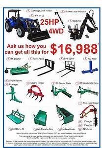 Luzhong 25HP Tractor 20 Piece Package - AUSTRALIA WIDE SHIPPING* Midland Swan Area Preview